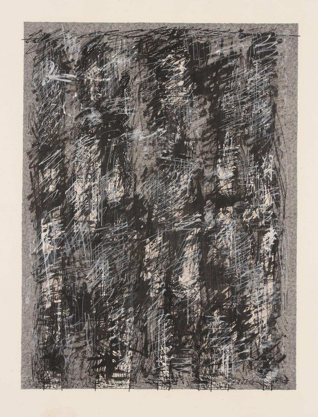 JAN SCHOONHOVEN, Kalligrafie, 1959