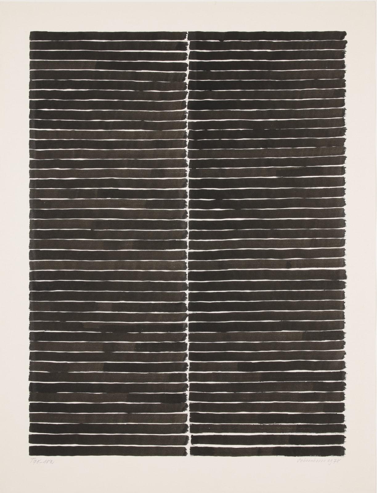 JAN SCHOONHOVEN, T 75-152, 1975