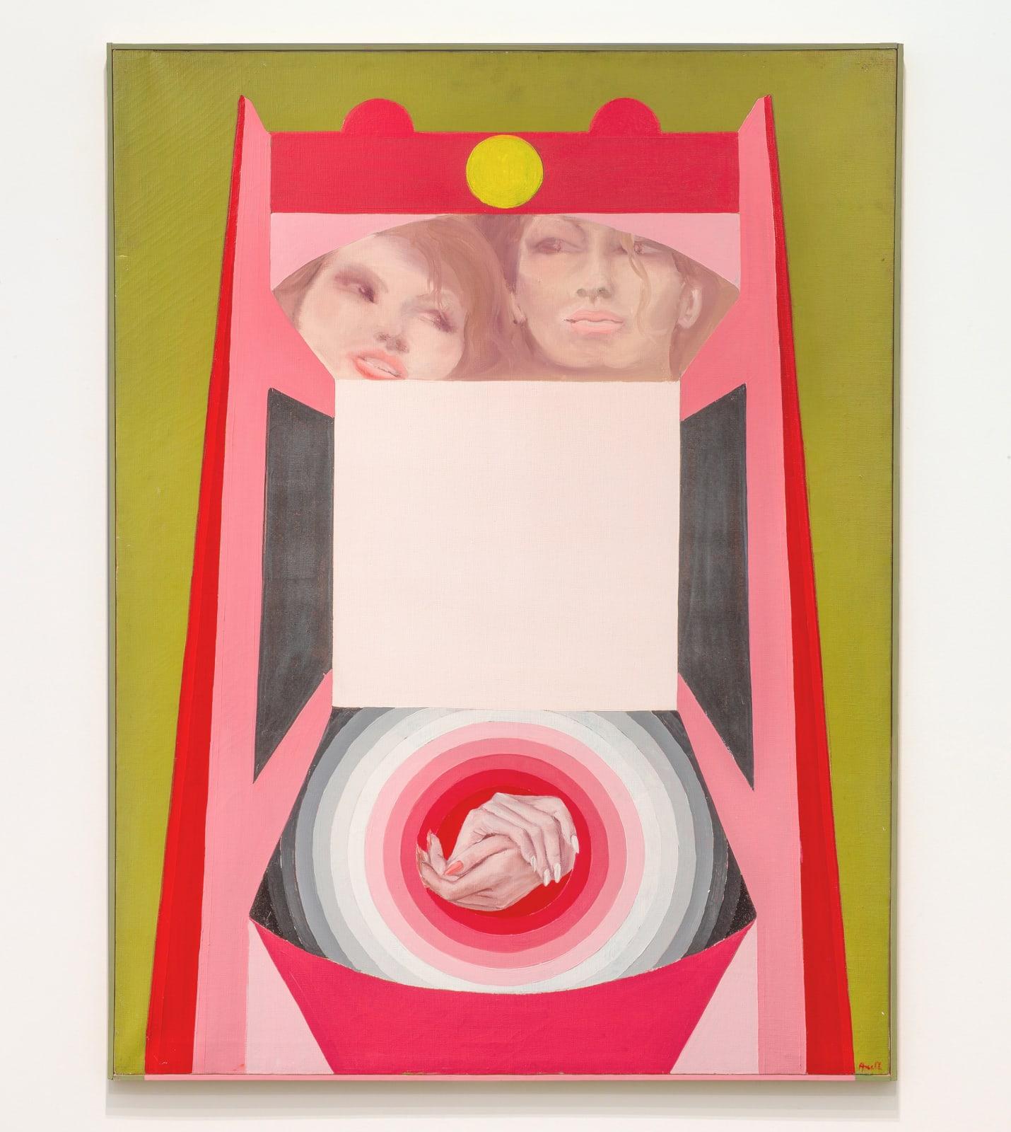 EVELYNE AXELL, Erotomobile III, 1966