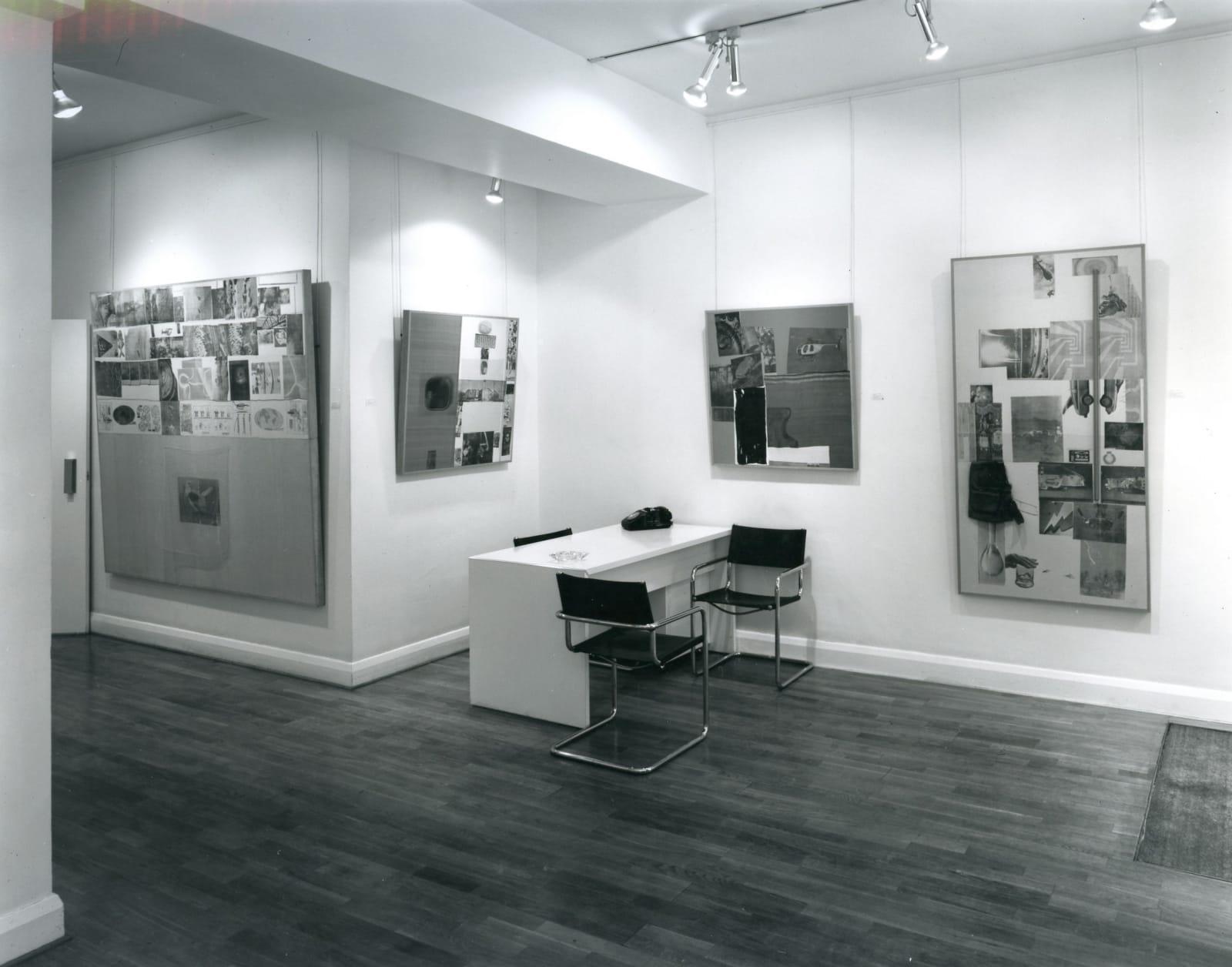 ROBERT RAUSCHENBERG Installation View