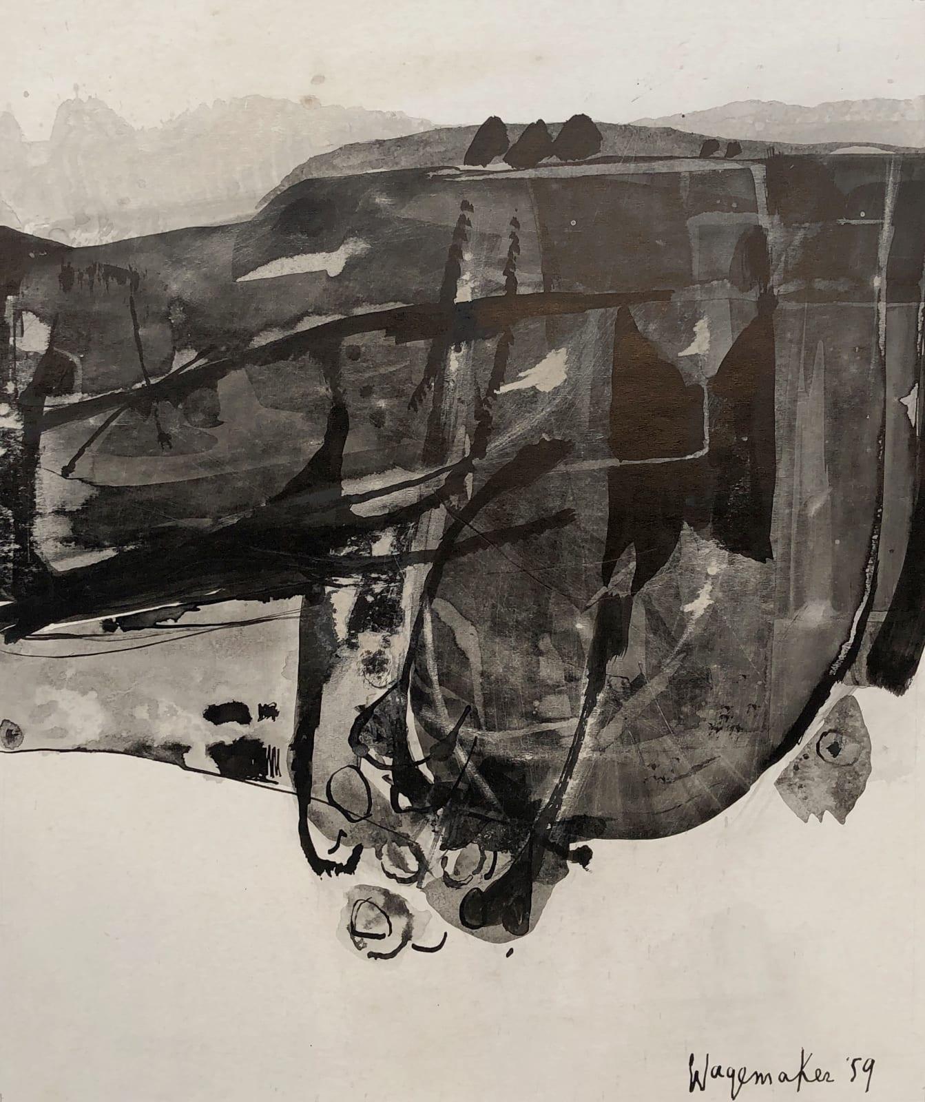 JAAP WAGEMAKER, Untitled, 1959