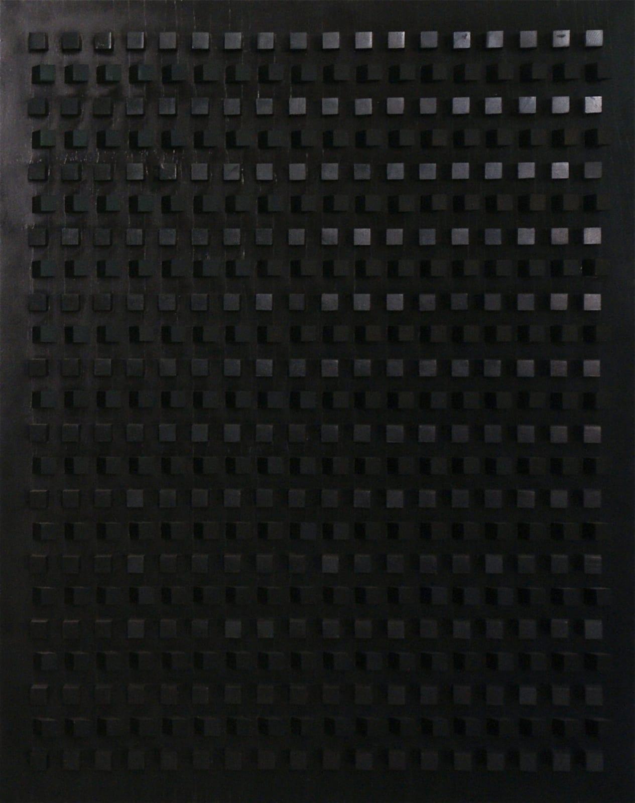 Dadamaino Untitled (Cromorilievo 11 gradi), 1974