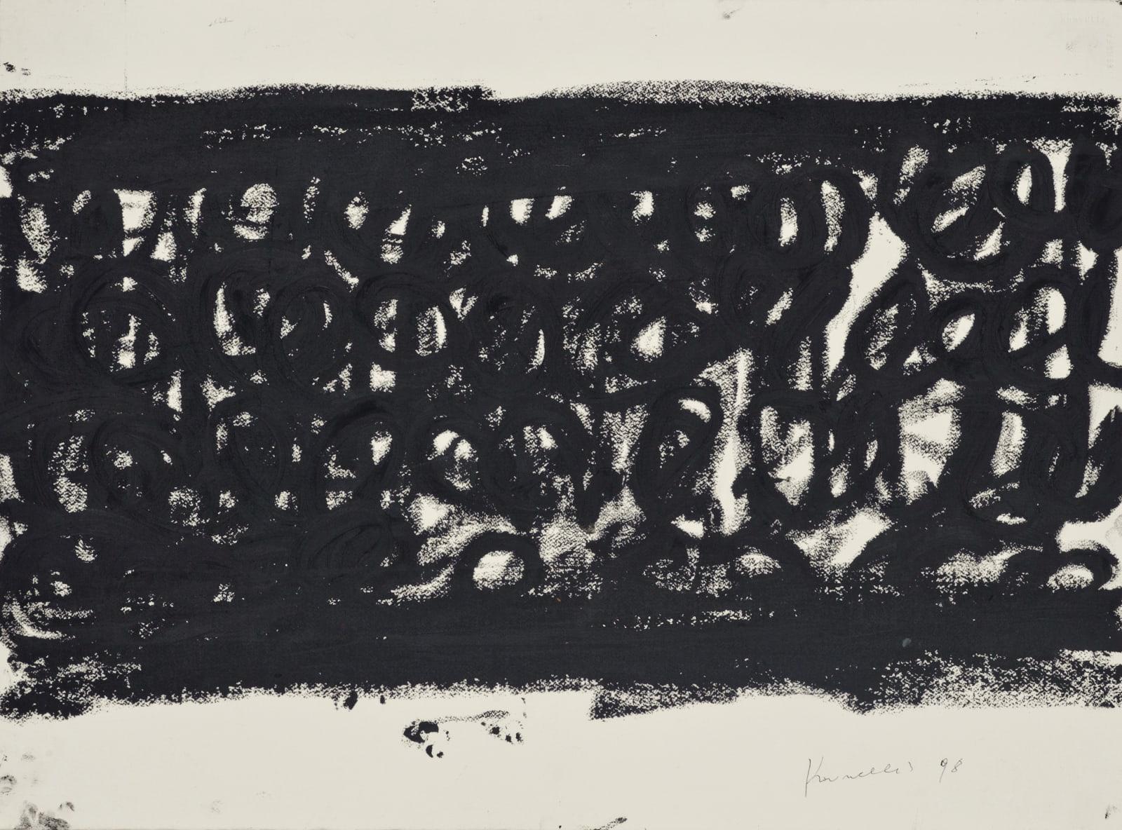 Jannis Kounellis Untitled VI, 1998