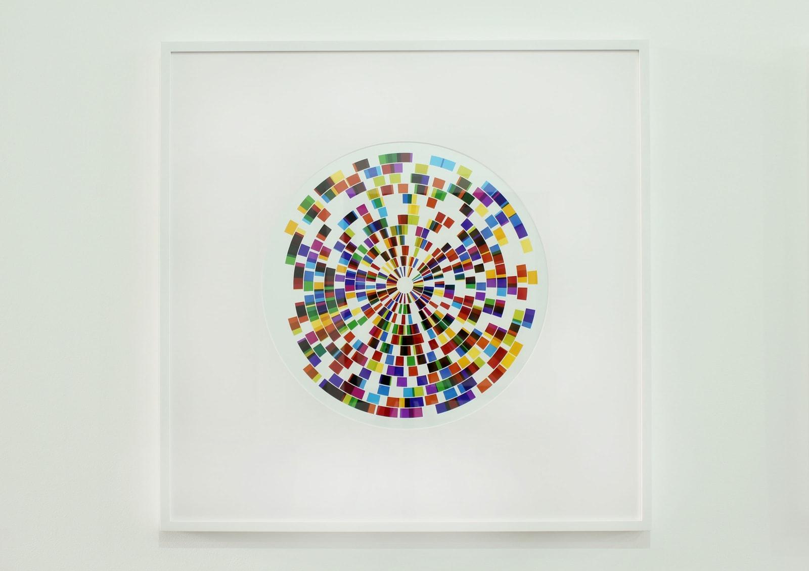 Light Rings No. 4 (Framed)