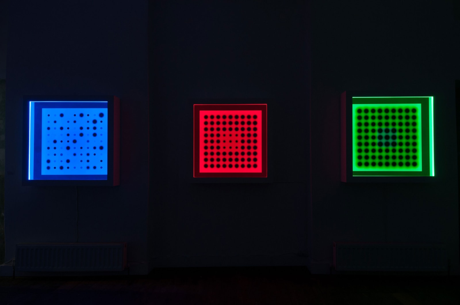 Light Movements (night time view)