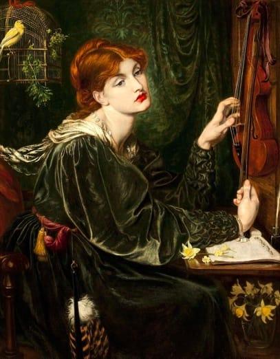 Dante Gabriel Rossetti, Veronica Veronese, 1872, Legion of Honor