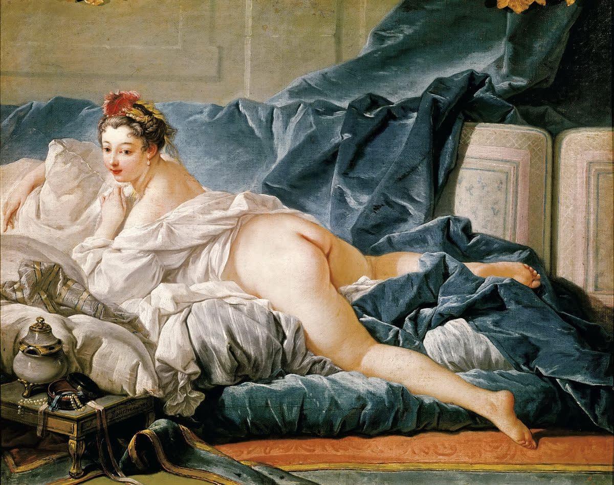 François Boucher, L'Odalisque Brune, 1743