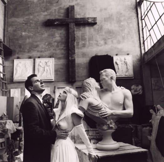 Helmut Newton Jeff Koons & Cicciolina, Italy, 1991 Galerie Andrea Caratsch
