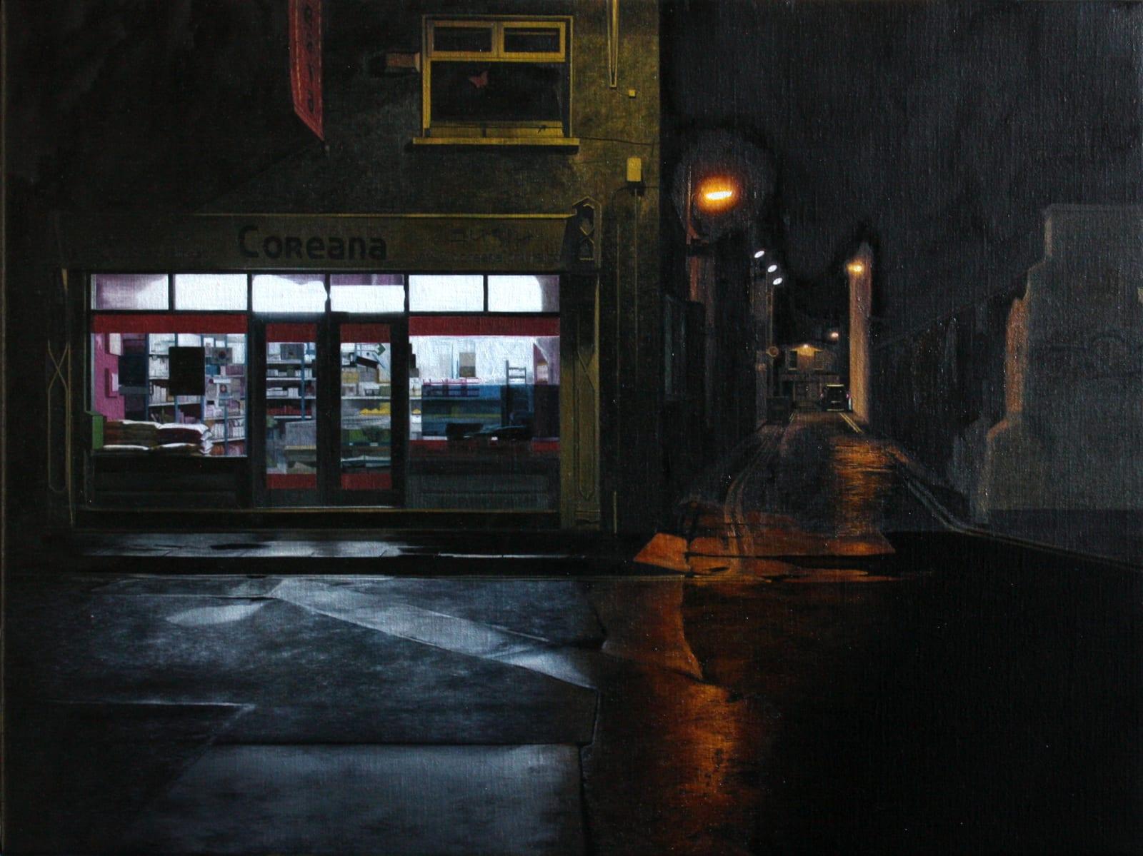 Francis Matthews  Coreana  Oil on linen  45 x 60 cm