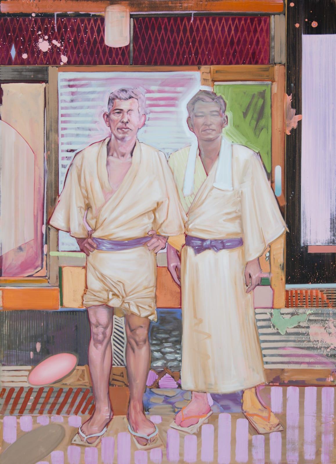 Shane Berkery Robes Oil on canvas 140 x 100 cm