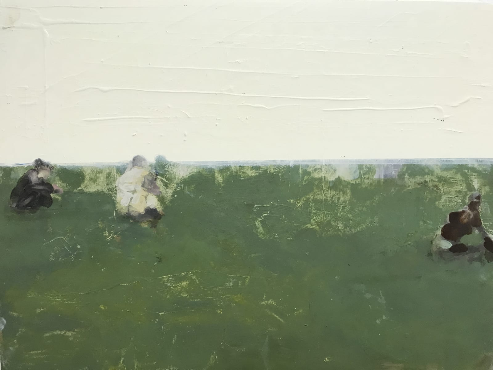 Conor Foy Drawn Oil on birch panel 46 x 61 cm