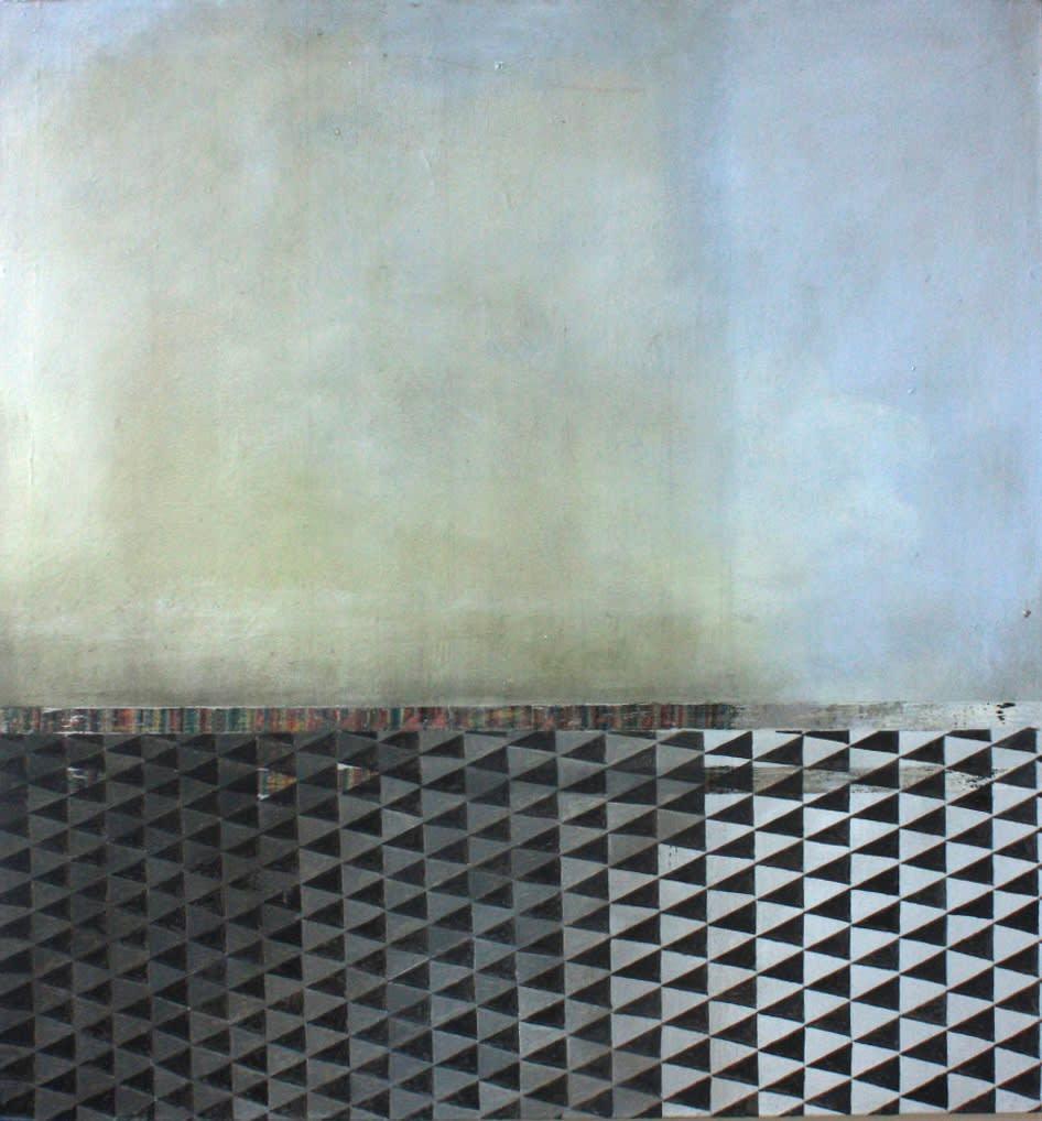 Gillian Lawler Plantation Oil on canvas 75 x 80 cm