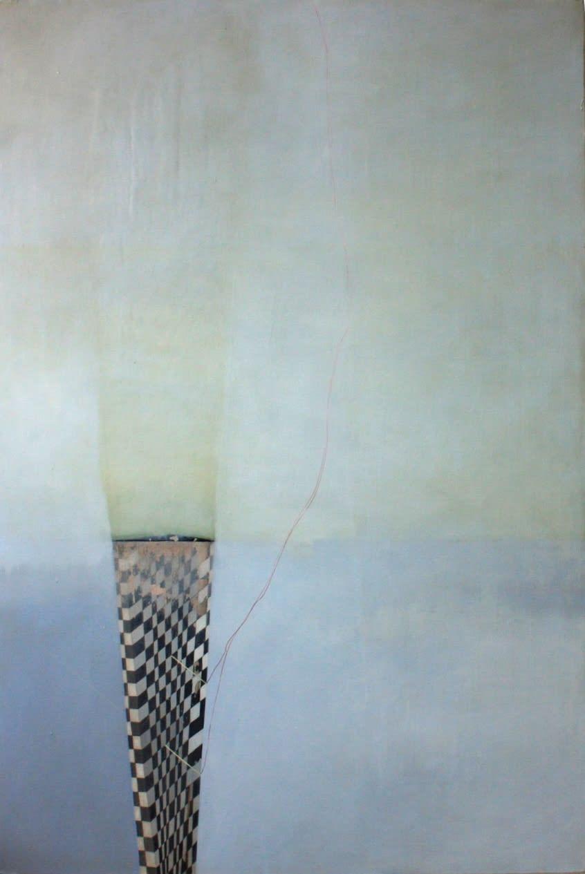 Gillian Lawler  Tower  Oil on canvas  120 x 80 cm