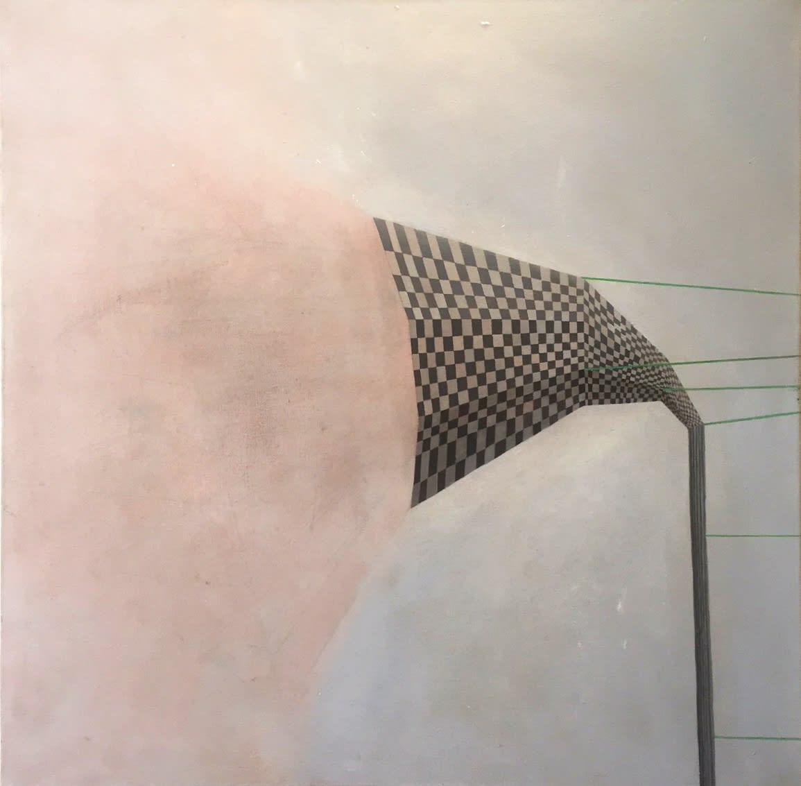 Gillian Lawler Vent Oil on canvas 80 x 80 cm