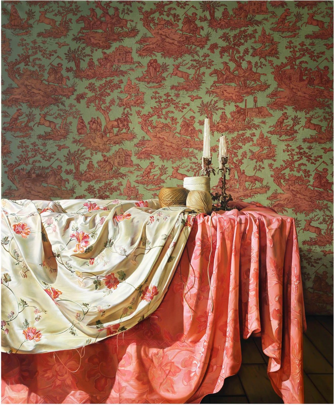 Jennifer Trouton  The ties that bind  Oil on linen  183 x 152cm