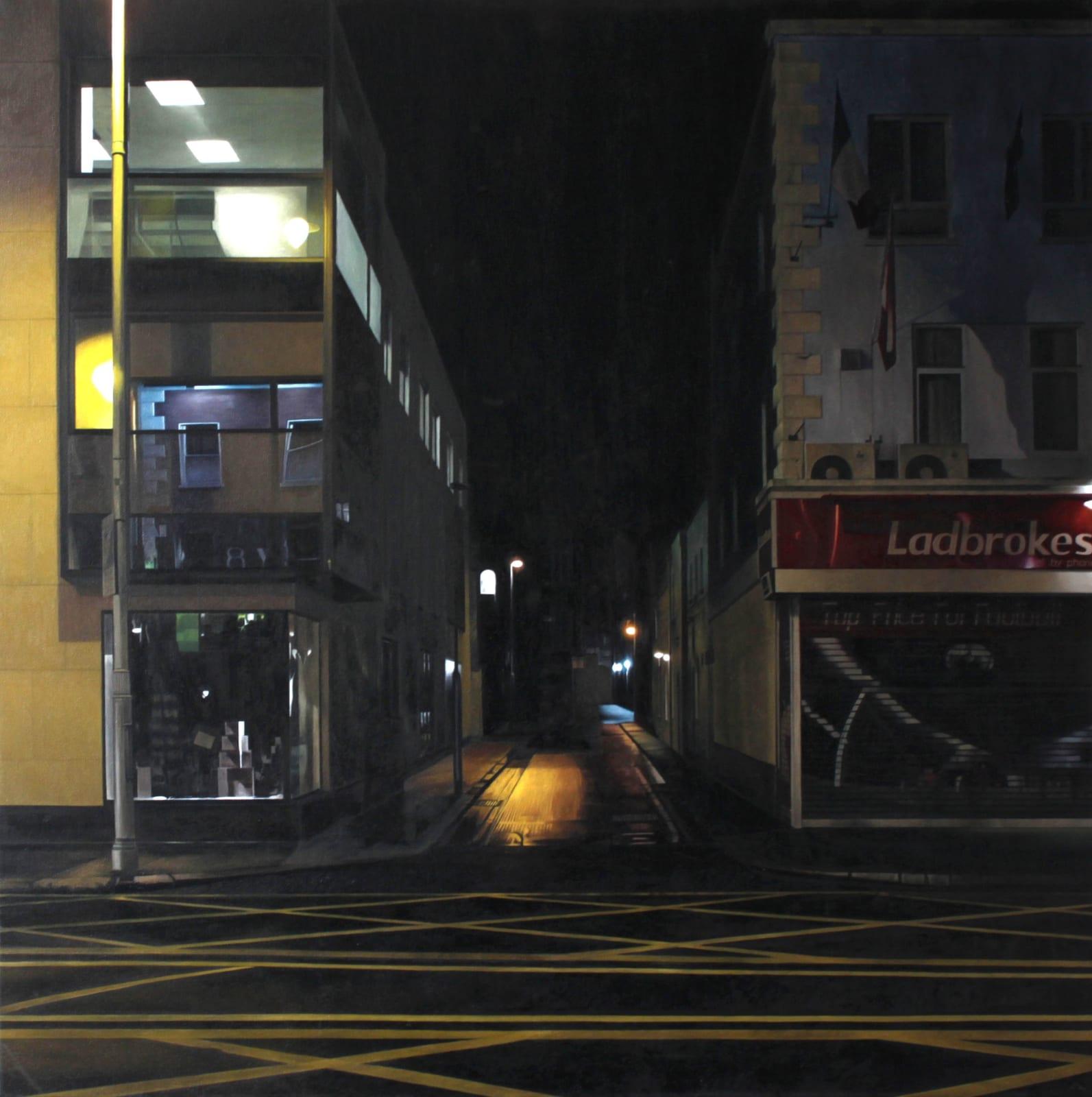 Francis Matthews  Camden St - east  Oil on canvas  80 x 80 cm