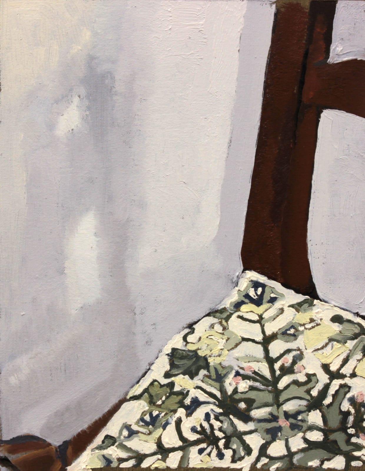 Again,  Oil on Linen Panel,  25 x 20cm