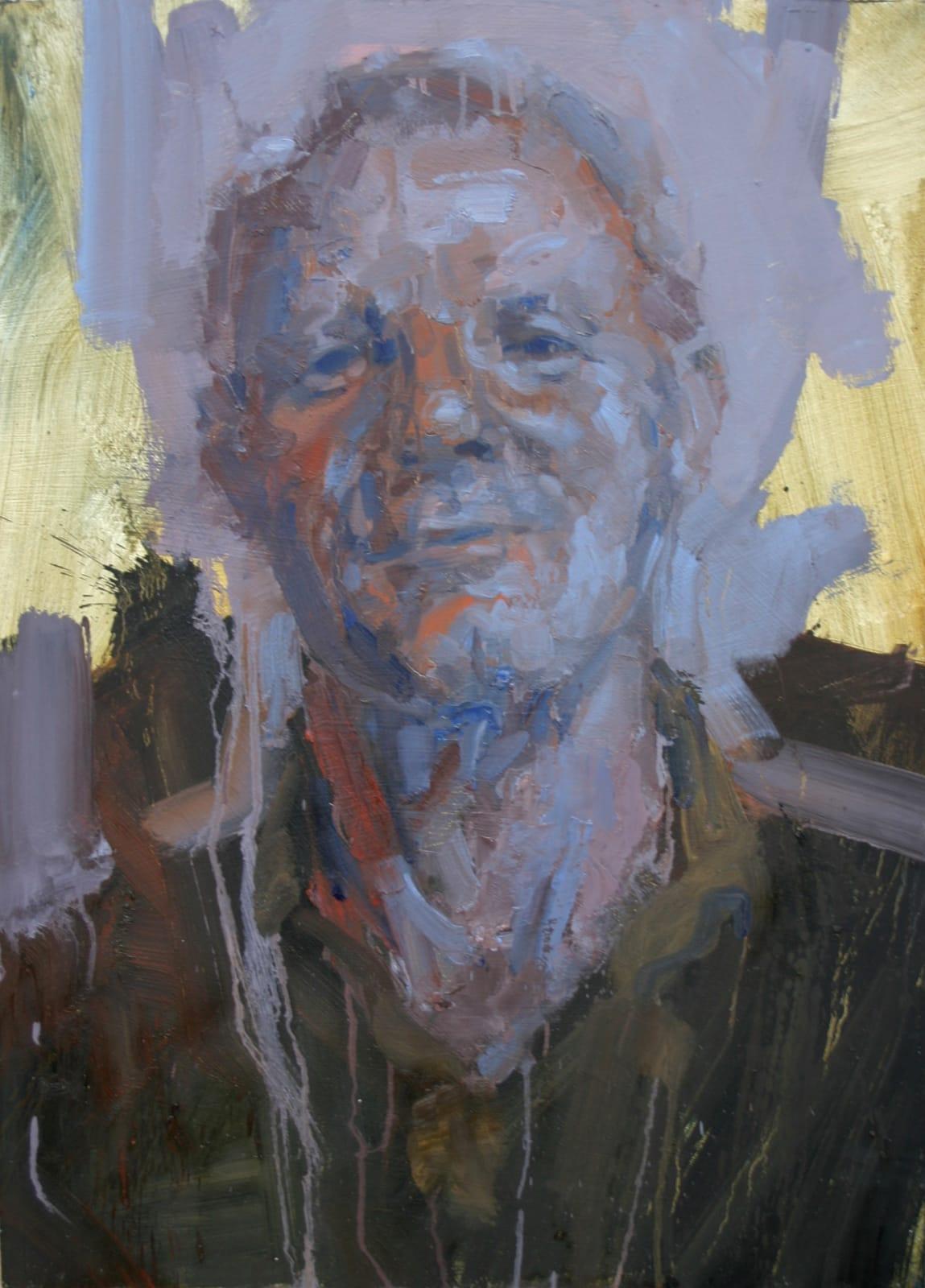 Cian McLoughlin Peter Doyle II Oil on board 73 x 53 cm