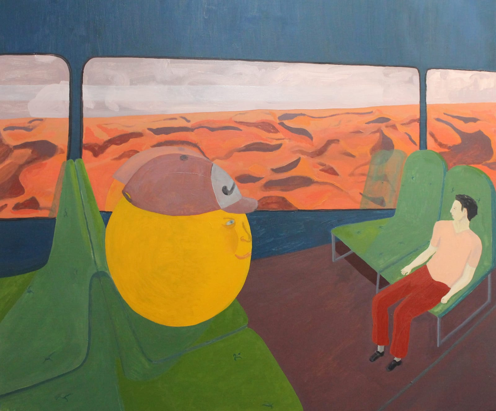 Oscar Fouz Lopez Dreamer Oil on canvas 100 x 120 cm