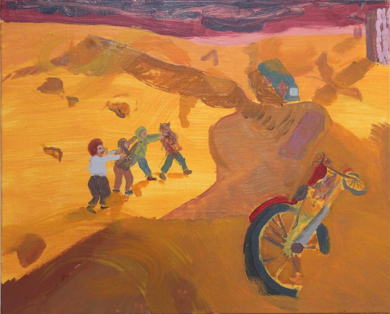 Oscar Fouz Lopez Storm Oil on canvas 38 x 48 cm