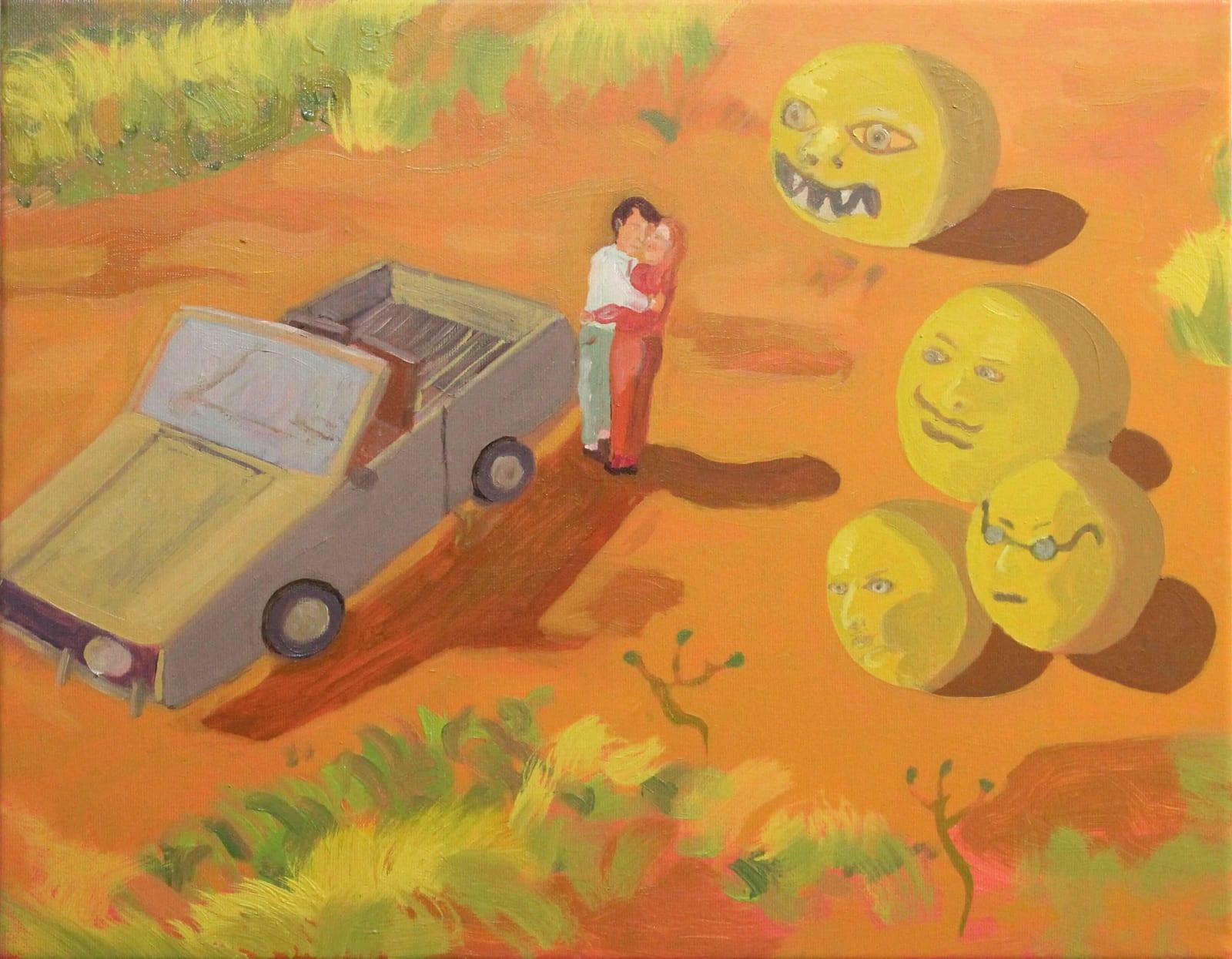 Oscar Fouz Lopez Untitled Oil on canvas 40 x 50 cm