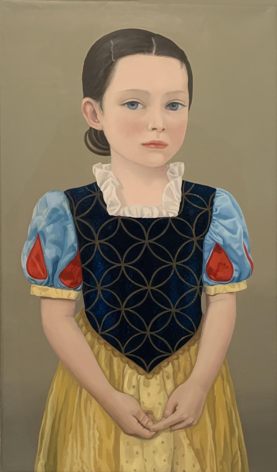 Cristina Bunello Persona: Snow White Oil on canvas 30 x 20 cm
