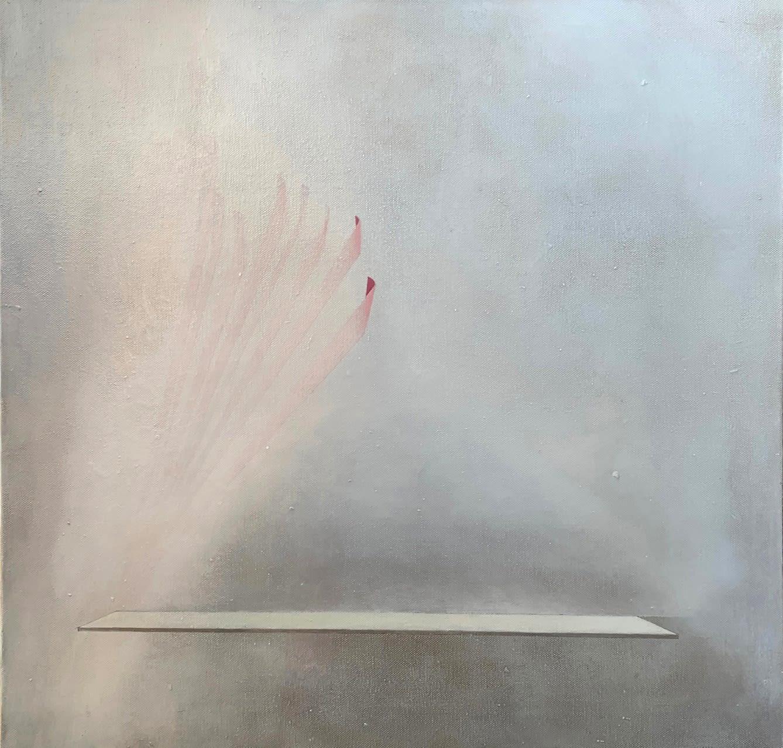 Gillian Lawler Platform Oil on canvas 60 x 60 cm