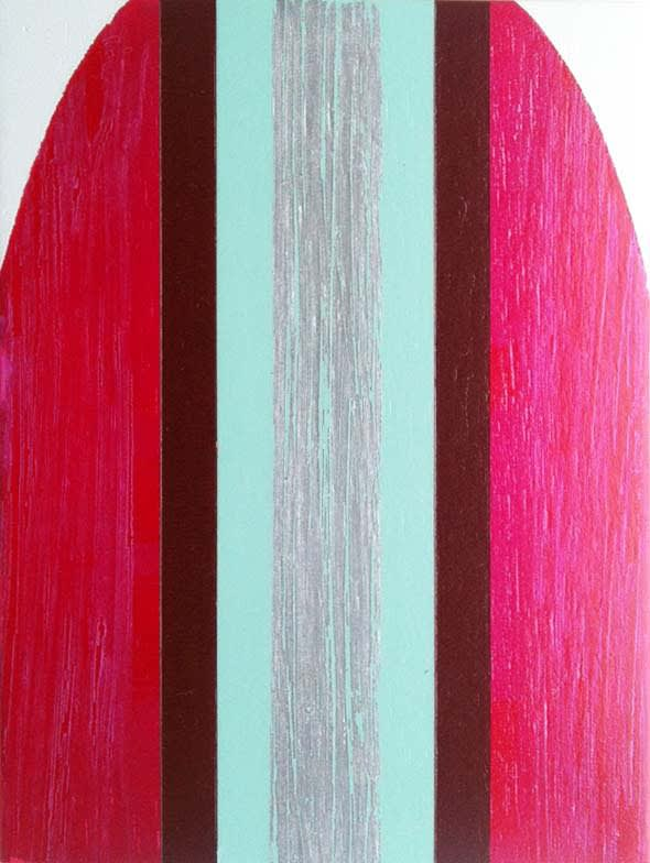 Tom Phelan Lipsticks no. 3 Oil on birch 20 x 16 cm