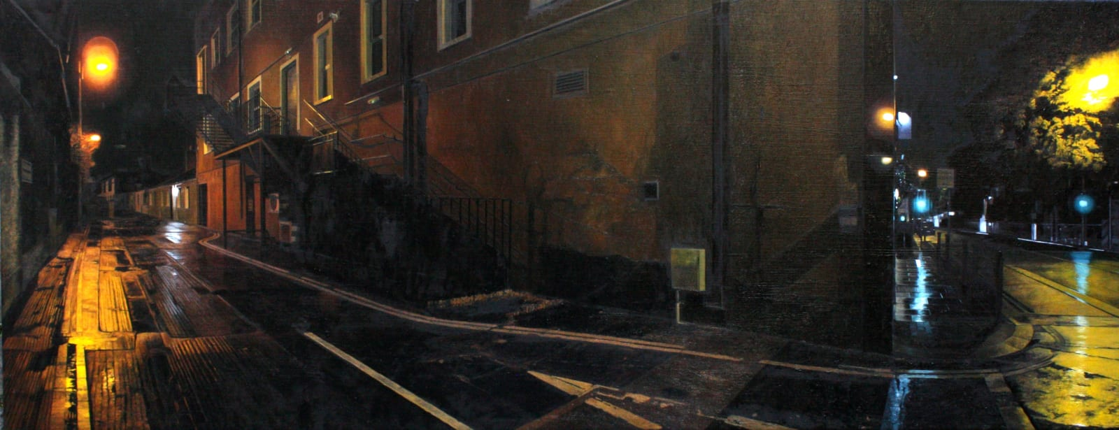 Francis Matthews Ranelagh Oil on canvas 50 x 130 cm