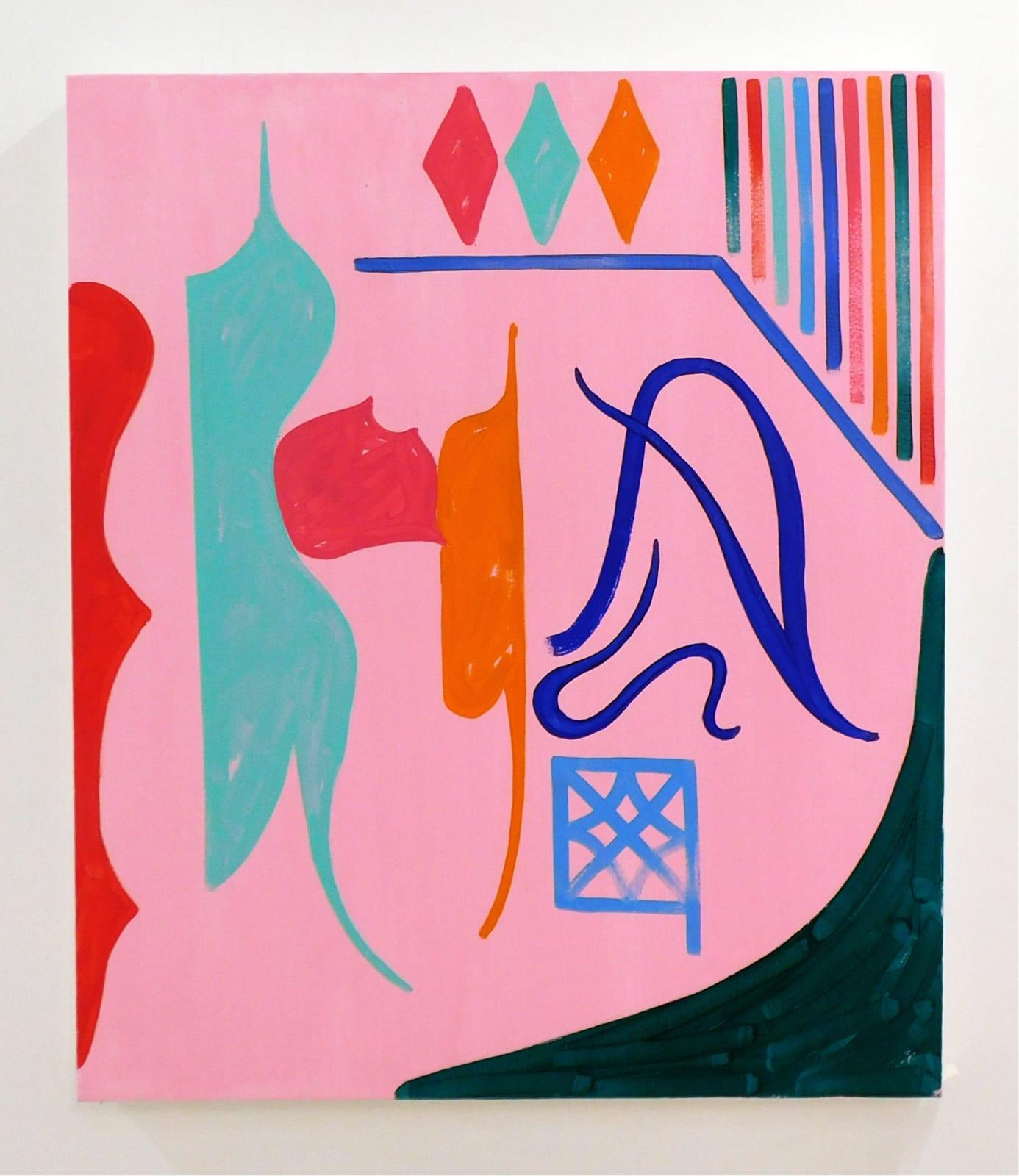 """Jason Stopa Interior Pleasures, 2019 oil on canvas 28"""" x 23"""""""