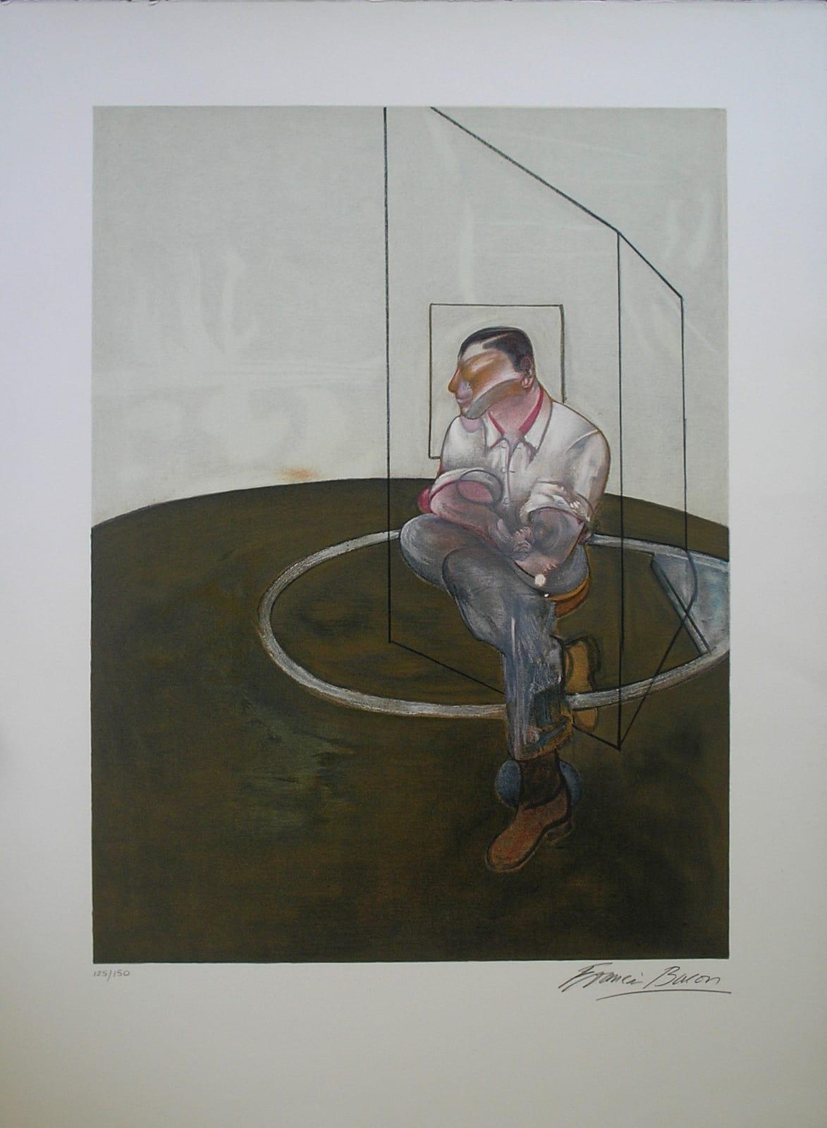 Right panel of Three Studies for Portrait of John