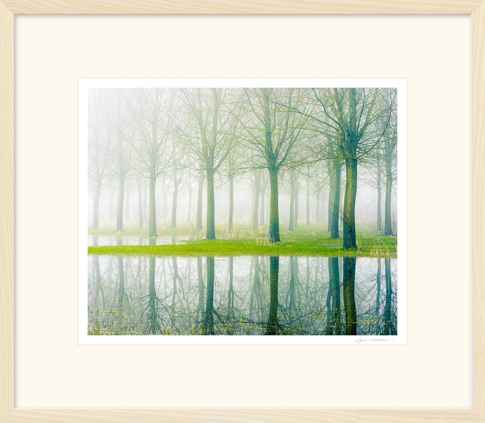 'ABOVE AND BELOW' Archival Pigment Print on Platinum Etching Fine Art Paper. Framed in an Limed Ash Cushion Frame and protected with crystal clear Water White Glass. Available in an edition of 3 in three sizes. Prices from £245.00 including first class courier delivery within five working days.