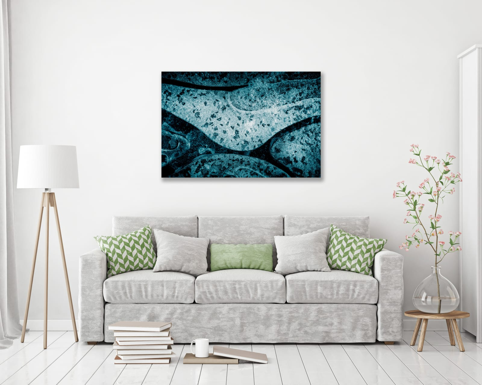 Fine art print mounted onto aluminium and protected with a clear matt varnish