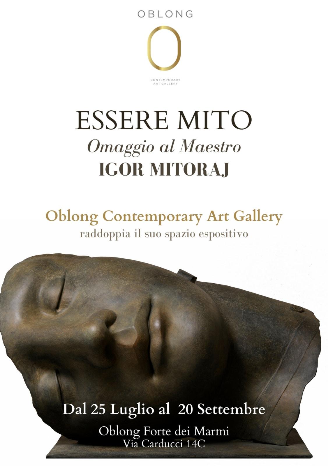 Essere Mito: Omaggio al Maestro Igor Mitoraj