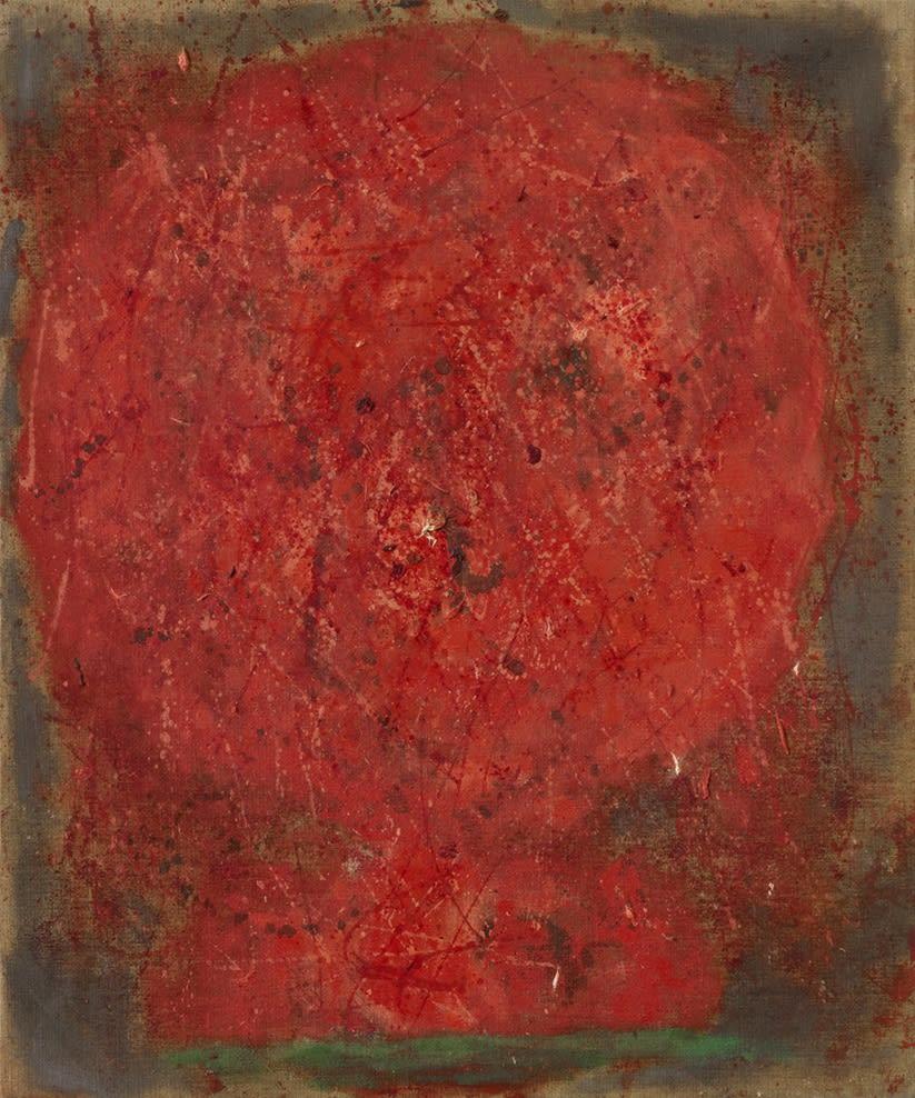 Head 1, 1955, oil on canvas, 76.2 x 63.5 cm