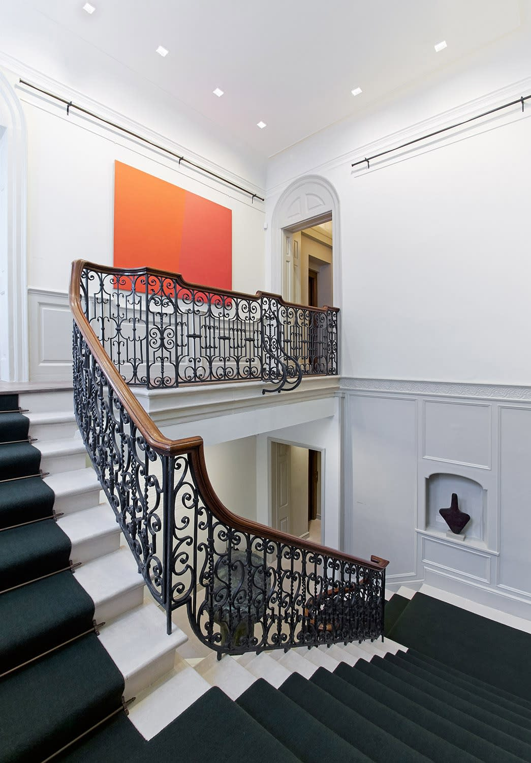 Installation view - Main staircase