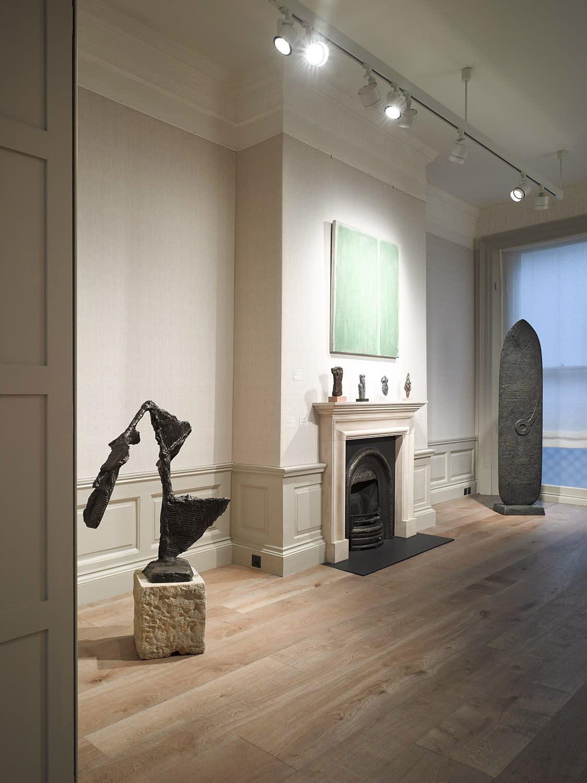 Installation view - First floor