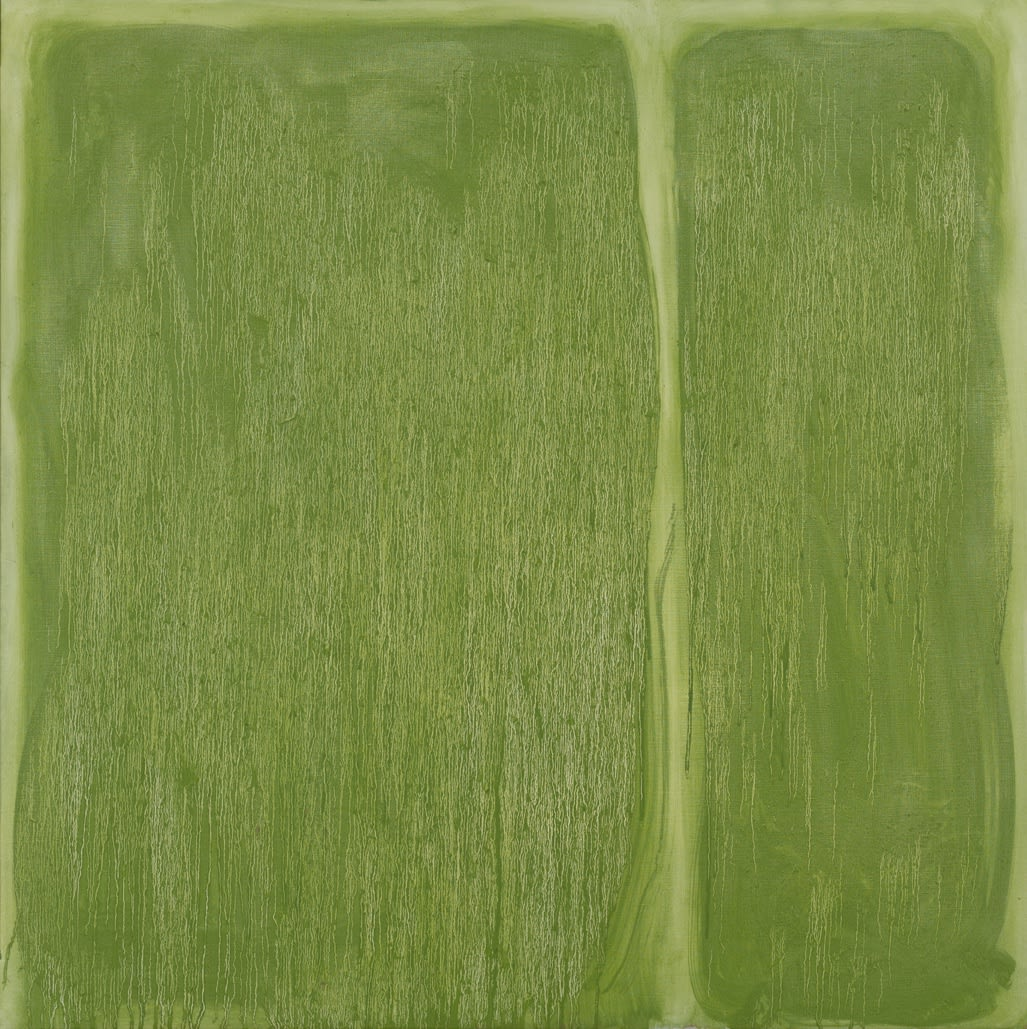 5-1963, oil on canvas, 101.6 x 101.6 cm