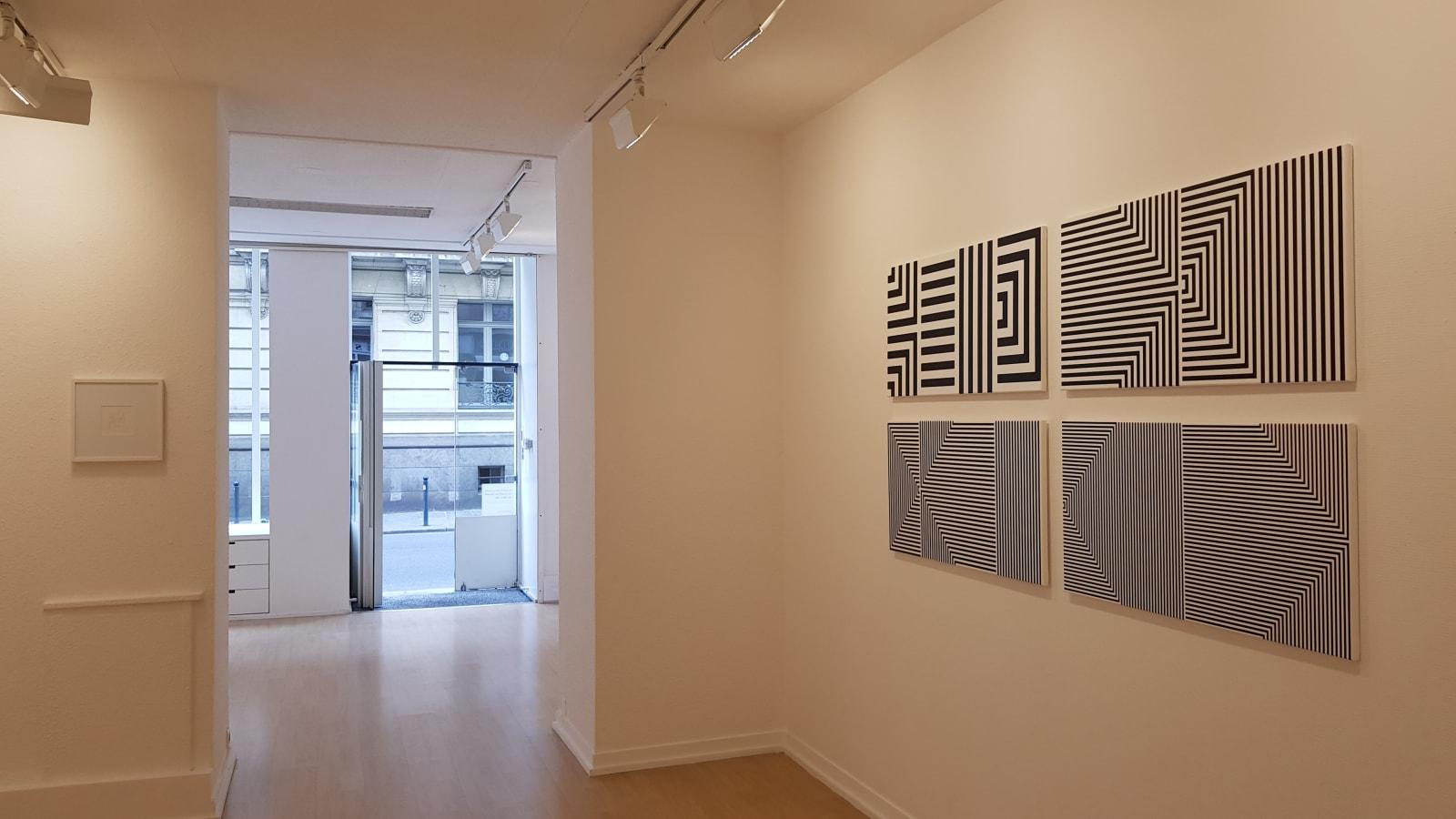 Vera Molnar / Alchimie des lignes, exposition personnelle / Oniris 2019