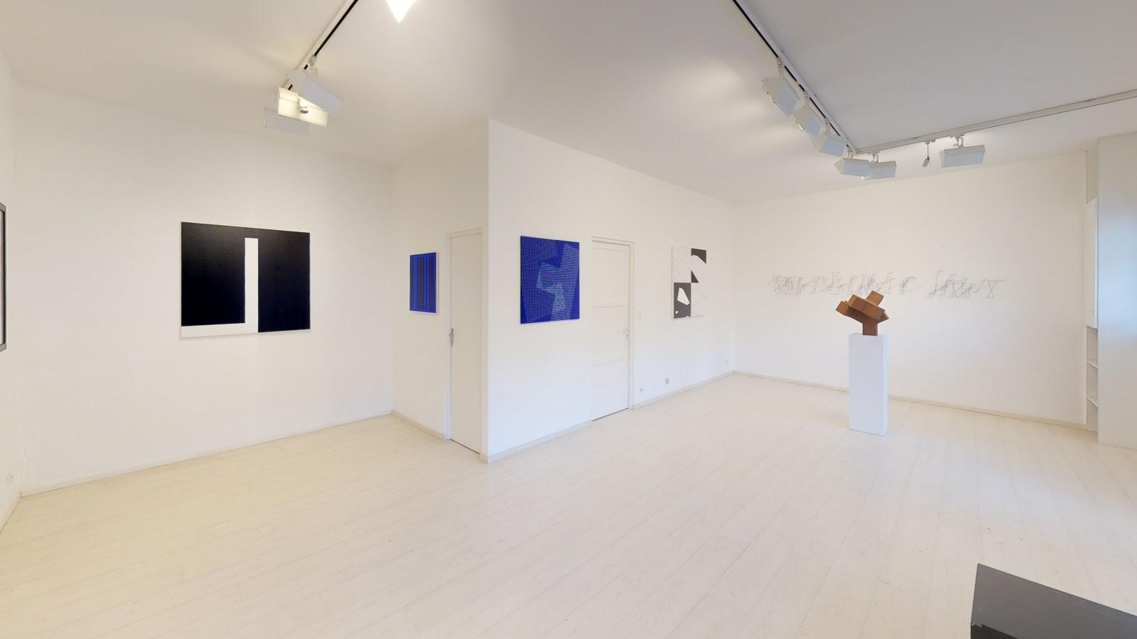 Julie Knifer, Marie-Thérèse Vacossin, François Morellet, Norman Dilworth & Vera Molnar / exposition de groupe Vera Molnar & Friends / Oniris 2019