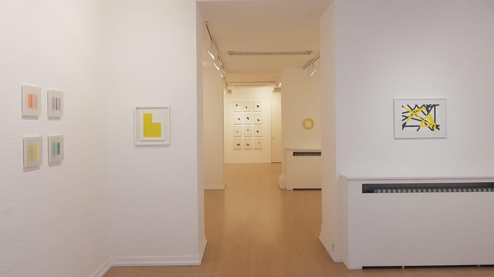 Petits Formats & Oeuvres sur Papier / exposition de groupe des artistes de la galerie / Oniris 2018-2019