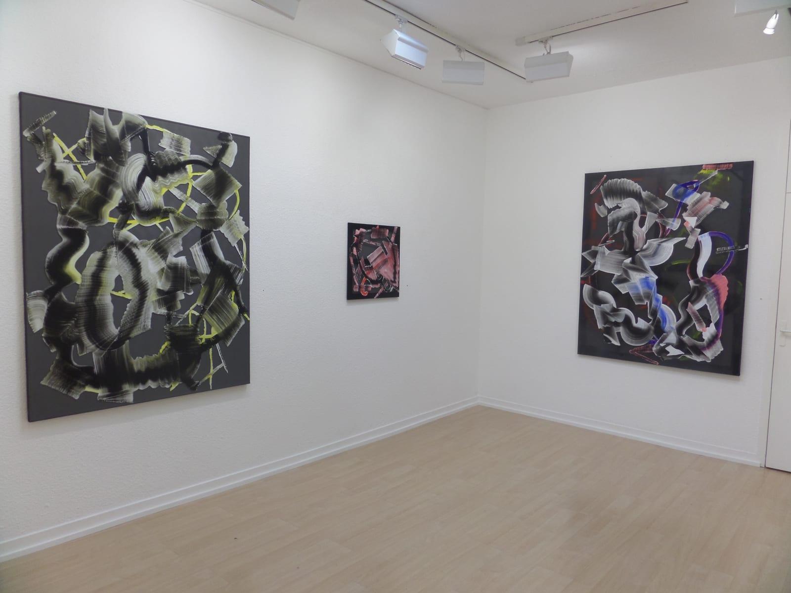 Christian Bonnefoi / Peintures et collage, exposition personnelle / Oniris 2015