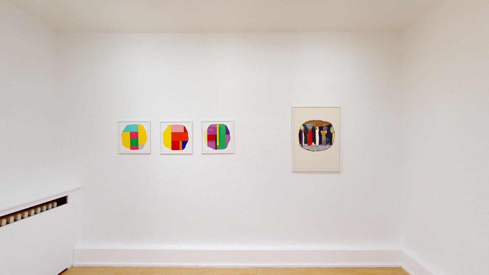 Petits Formats & Oeuvres sur Papier / exposition de groupe des artistes de la galerie / Oniris 2020-2021