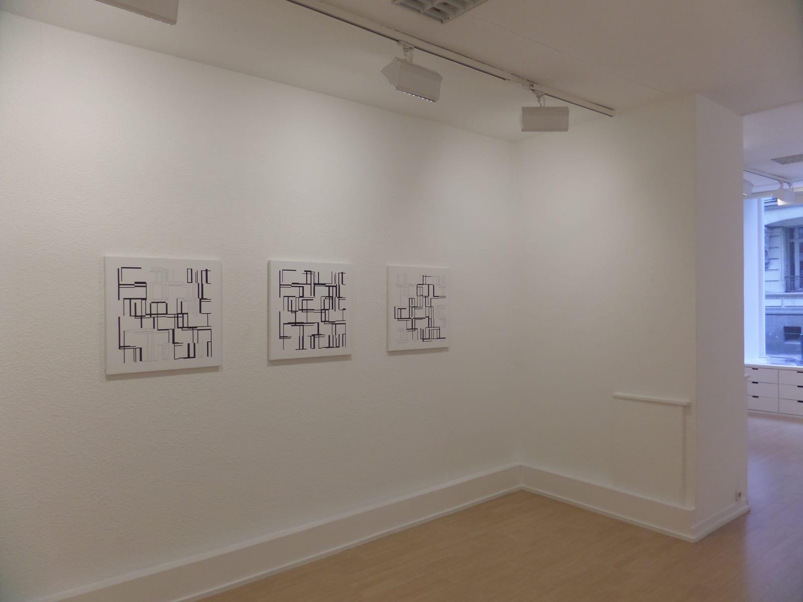 Ode Bertrand / Les artistes de la galerie, exposition de groupe / Oniris 2016
