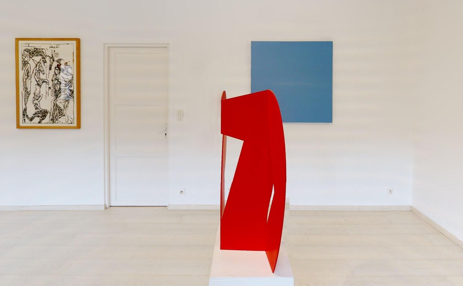 Exposition anniversaire ONIRIS 35 ANS / JP Pincemin + Geneviève Asse + Alain Clément / Oniris été 2021