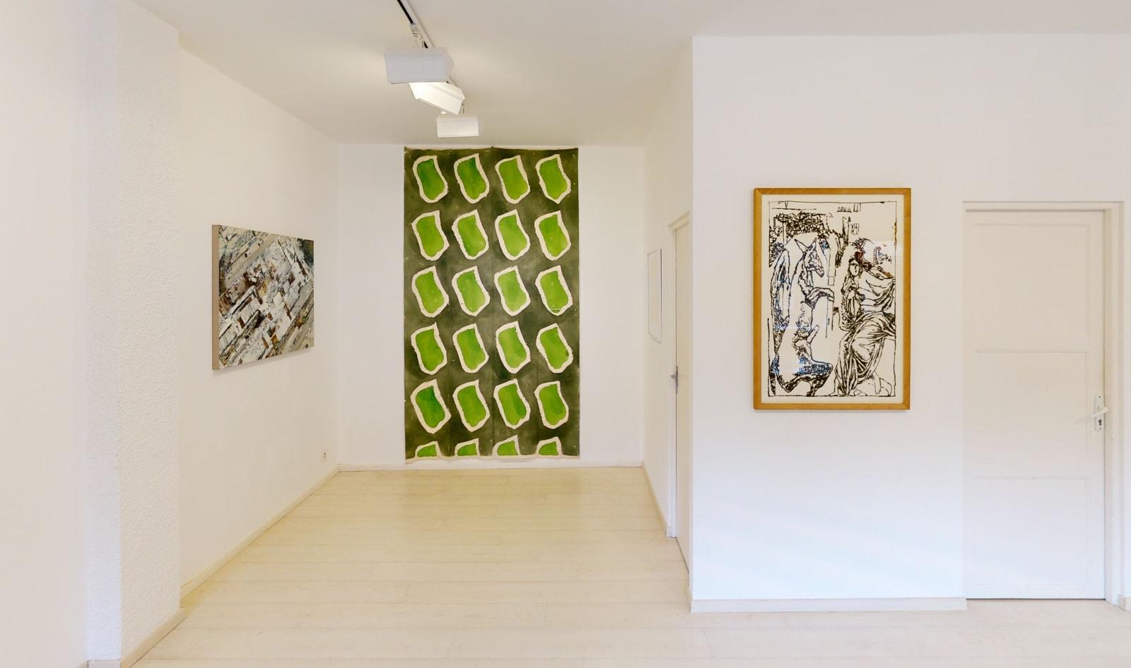 Exposition anniversaire ONIRIS 35 ANS / Philippe Cognée + Claude Viallat + JP Pincemin / Oniris été 2021