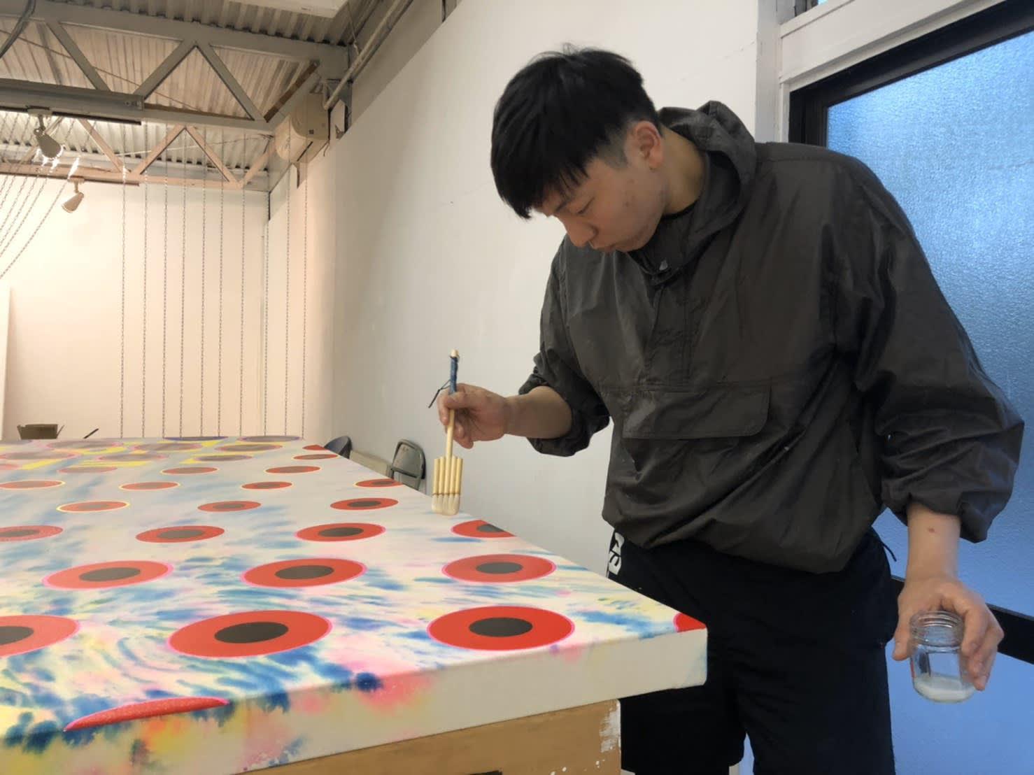 Jong YuGyong in his Studio, © Jong YuGyong