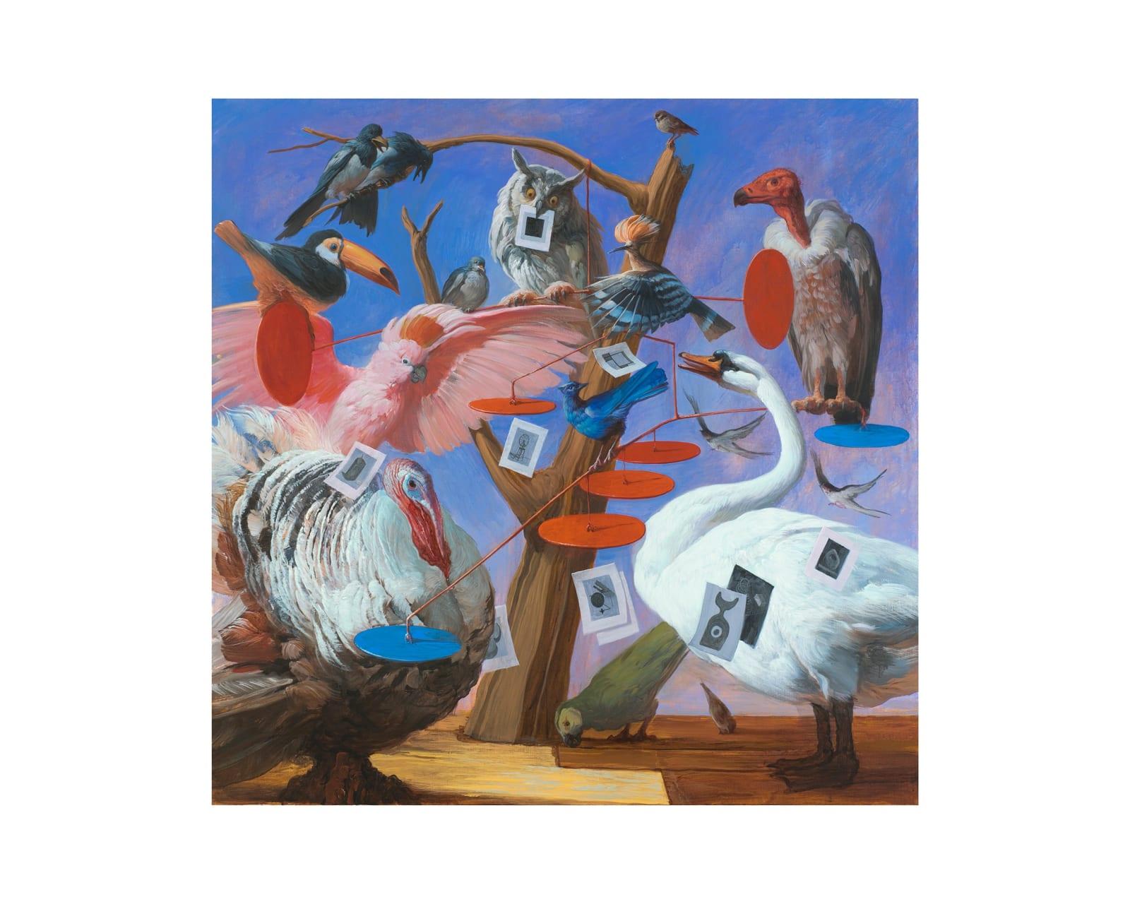 Егор Кошелев | Egor Koshelev Угадайка | Guessing, 2020 Холст, масло | oil on canvas 150 х 150 см