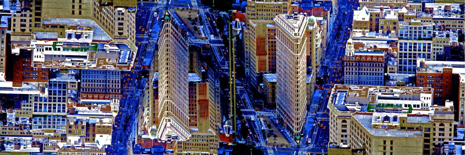 New York 5th ave, 2011 Fine Art Print in two sizes: 16 x 50 in 40.6 x 127 cm ___________ 8 x 24 in (152)
