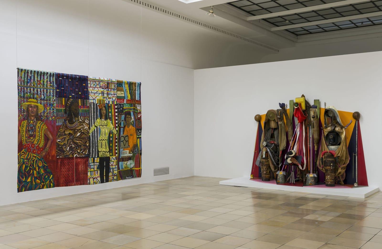 Installationsansicht / Installation view Haus der Kunst, 2021 Photo: Maximilian Geuter